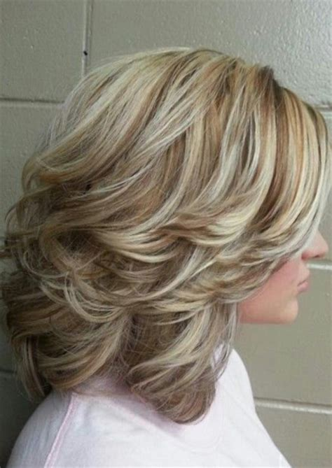 hi and low lights on layered hair hottest medium length hairstyles for 2014 talk hairstyles
