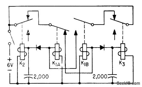 relay low resistance relay mvbr with isolator diodes basic circuit circuit diagram seekic