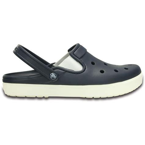crocs clogs for crocs citilane clog navy white a slender version of the