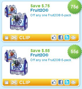 fruit2o coupons new zatarain s and fruit2o coupons addictedtosaving