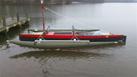 trimaran expedition ultimate expedition sailing canoe trimaran puddlecat