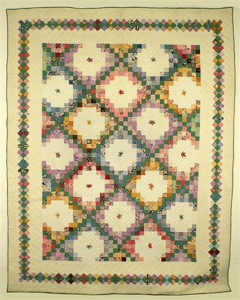 quilt pattern triple irish chain irish chain quilt quilting pinterest