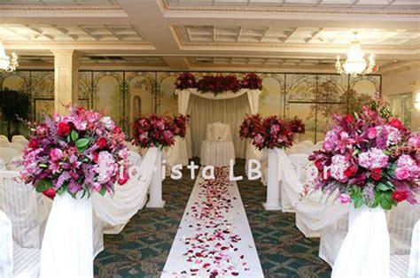 fiori e addobbi per matrimonio fiori matrimonio addobbi floreali per matrimoni