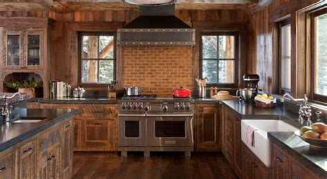Rustic Kitchen Countertops Rustic Tile Kitchen Countertops Navteo The Best And Design Inspiration For Your