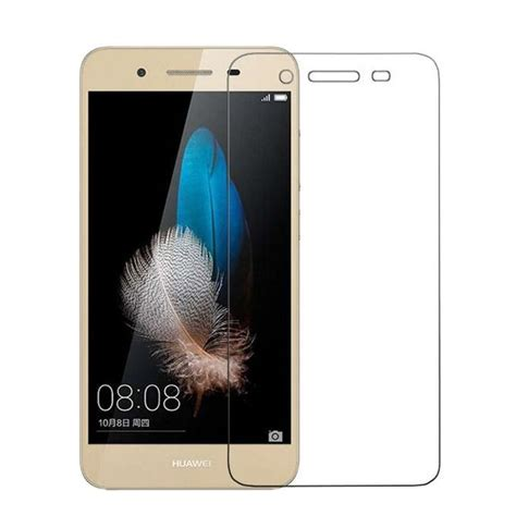 Tempered Glass Jfl Huawei Gr3 tempered glass screen protector for huawei gr3 transparent
