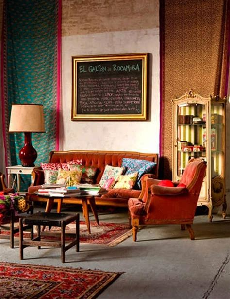 bohemian living rooms 20 inspiring bohemian living room designs rilane