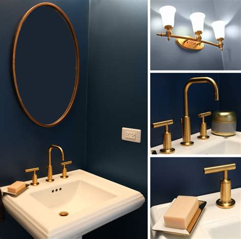 navy and green bathroom 25 best ideas about gold bathroom accessories on