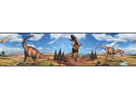 bordure kinderzimmer dinosaurier roommates bord 252 re dinosaurier selbstklebend bord 252 ren