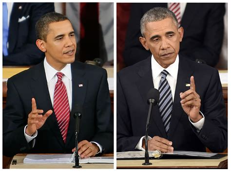 where are the obamas now see how president obama has aged since his 2009 address time
