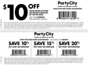 party city coupons 2015 halloween party city coupons 10 off 60 at party city or online