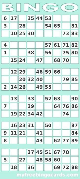 image result   printable bingo cards   bingo