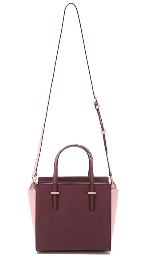 libro kate spade new york lyst kate spade new york small hayden satchel in purple