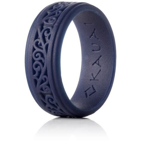 KAUAI  Silicone Rings Elegant, Comfortable, Engagement