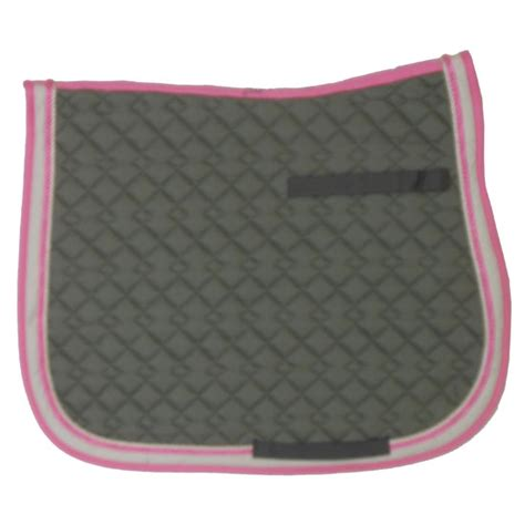 Quilted Pad by Usg Quilted All Purpose Pad In Khaki With Pink Trim