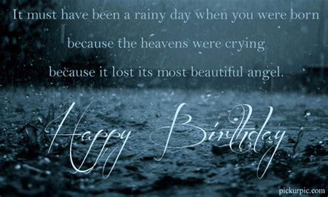 Rainy Birthday Quotes Birthday Quotes For Sweetheart Quotesgram