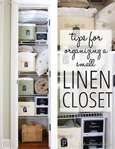 tips on organizing tips for organizing a small linen closet finding home farms