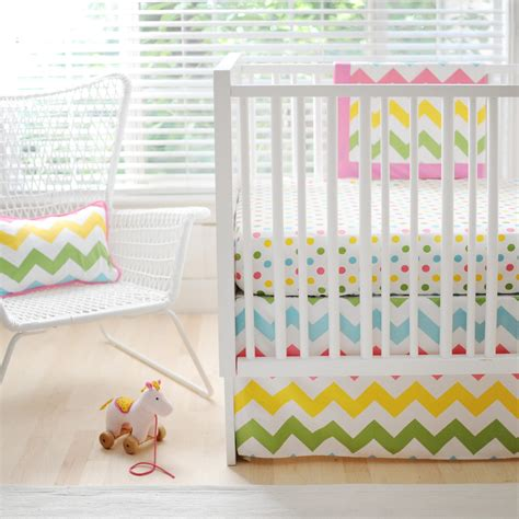 Rainbow Crib Bedding Sets New Arrivals Zig Zag Baby Crib Bedding Set Rainbow Baby Bedding Sets At Hayneedle