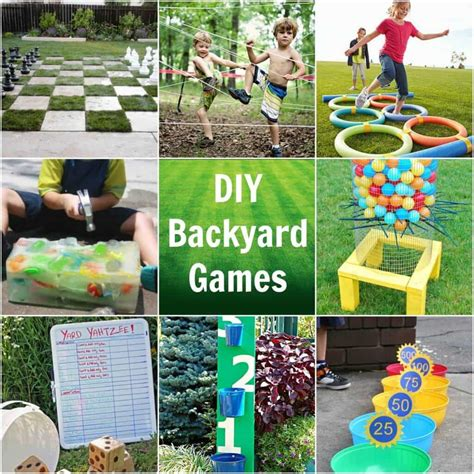 Easy Diy Backyard Games Princess Pinky Girl