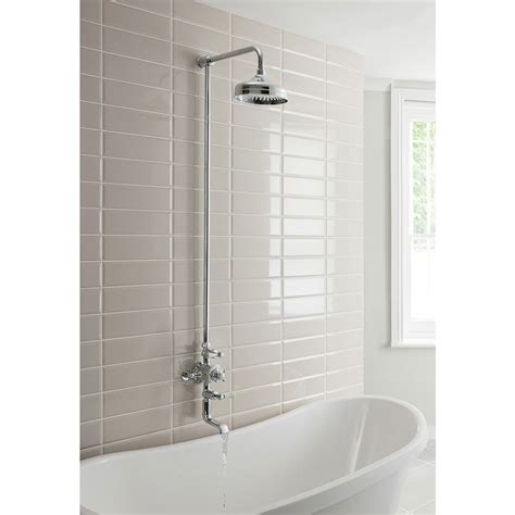 Crosswater Belgravia Thermostatic Shower Valve With Crosswater Bathroom Accessories