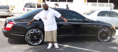 rick ross maybach car 50 awesome hip hop rides refined