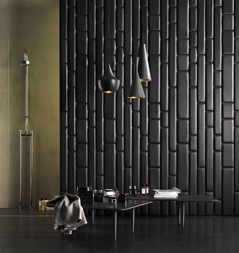 Leather Walls | leatherwall by studioart 187 retail design blog