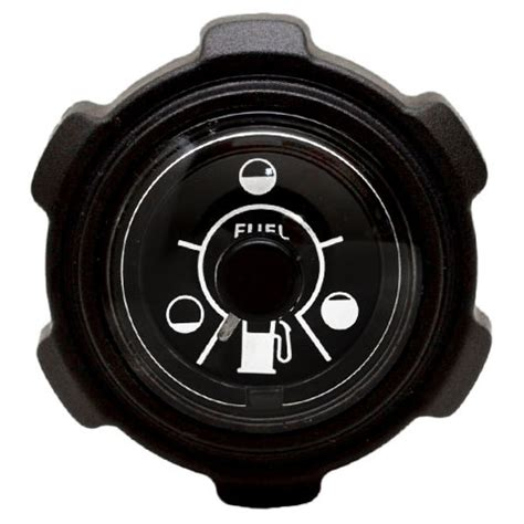 boat gas tank gauge moeller 305185 black boat gauge fuel tank cap w gauge for