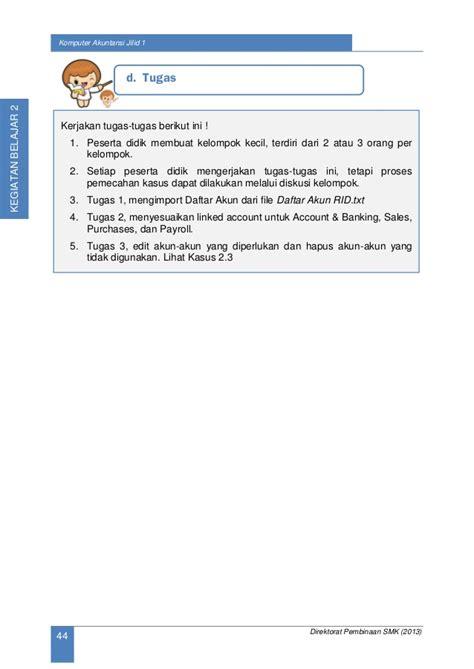 Komputer Akuntansi Myob Untuk Smk Buku 2 Dua Irsan Lubis komputer akuntansi xi 1