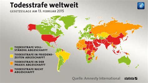 seit wann gibt es die todesstrafe statistik amnesty international mehr todesurteile