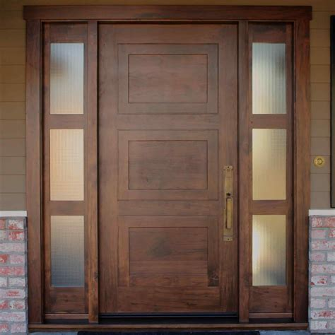 entry door with sidelights front doors with sidelights and transom traditional front door with sidelight arch and leaded