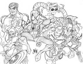 avengers coloring pages marvel avengers coloring pages kids coloring pages