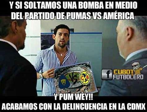 Pumas Vs America Memes - memes pumas vs am 233 rica 2 3 liga mx clausura 2017