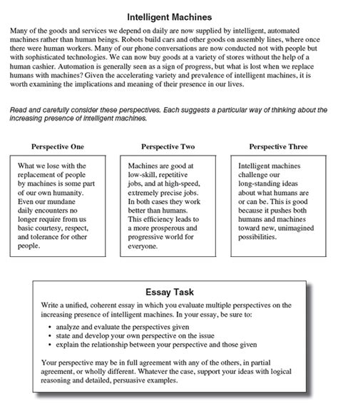Show Essay Exle by The New Act Essay What You Need To Test Prep Gurus