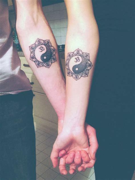 ying and yang foot tattoos yin yang om mandala tattoo my third tattoo with my