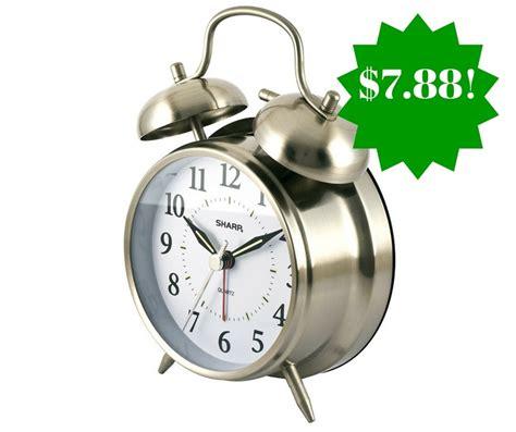 sharp quartz bell alarm clock only 7 88 reg