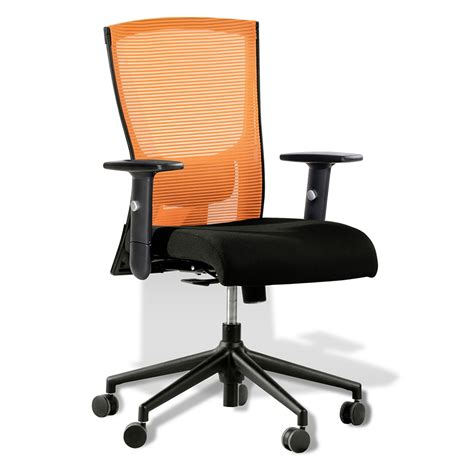 office bench seating modern office chairs hanna orange office chair eurway