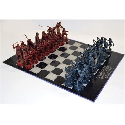 star wars chess sets star wars antique style chess set merchandise zavvi com