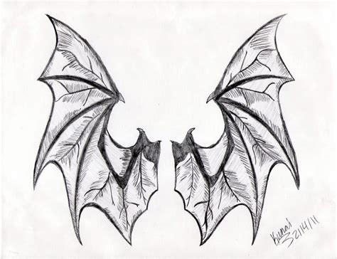 dragon wings tattoo designs bat wings drawing