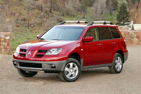 mitsubishi outlander review 2003 2003 mitsubishi outlander reviews specs and prices cars