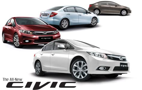 honda civic philippines honda cars philippines launches civic variants