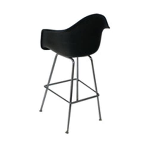 herman miller bar stools herman miller eames fiberglass bar stool with h base ebay