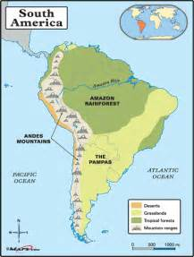 study map of south america tanny o s weblog