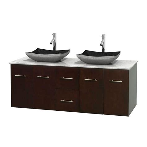 Home Depot Bathroom Sink Vanity Single Sink Vanities With Tops Bathroom Vanities The Home Depot