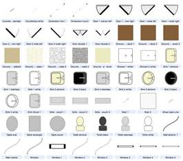 office floor plan symbols dozens of architecture styles symbols included with