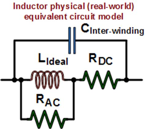 inductor resistance model inductors inductance calculations formulas equations rf cafe