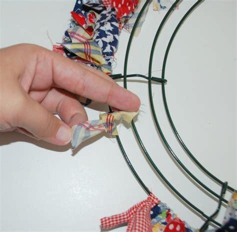 make a rag strip christmas tree how to make a rag wreath cool diy wreath ideas with cheap materials