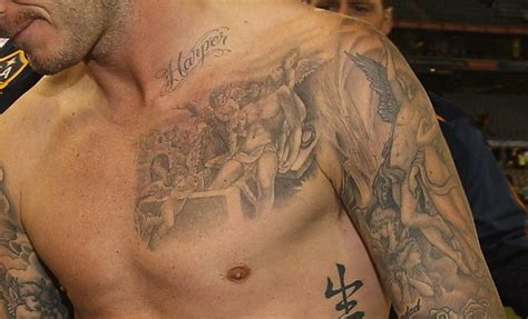 david beckham victoria tattoo 19 david beckham tattoos and their significance