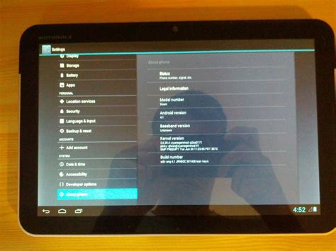 Hp Motorola Android Jelly Bean android 4 1 jelly bean rom is now available for motorola xoom