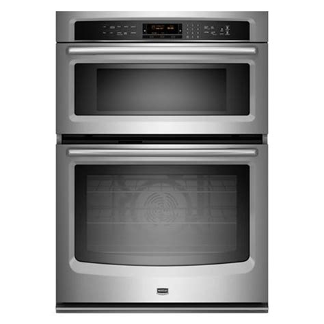 Oven Cooktop Combination maytag mmw9730as 30 quot stainless steel built in wall oven with microwave combination with 30