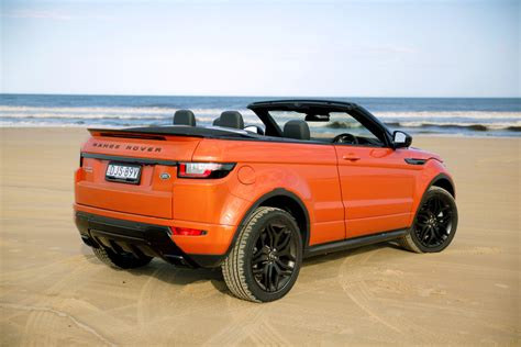 evoque land rover convertible 2017 range rover evoque convertible review caradvice