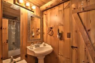 log cabin bathroom ideas lake tahoe log cabin small house bliss